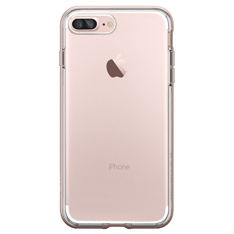Spigen Neo Hybrid Crystal iPhone 7 Plus Rose Gold/Clear - 2