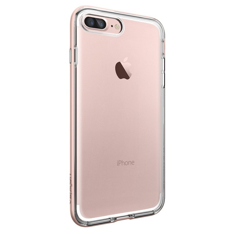 Spigen Neo Hybrid Crystal iPhone 7 Plus Rose Gold/Clear - 5
