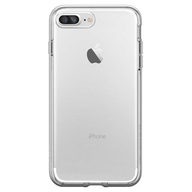 Spigen Neo Hybrid Crystal iPhone 7 Plus Satin Silver/Clear - 2