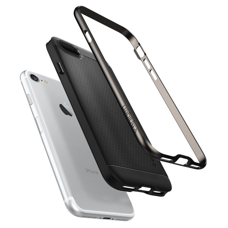 Spigen Neo Hybrid iPhone 7 Gunmetal/Black - 3