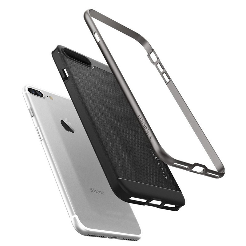 Spigen Neo Hybrid Case iPhone 7 Plus Gunmetal/Black - 6