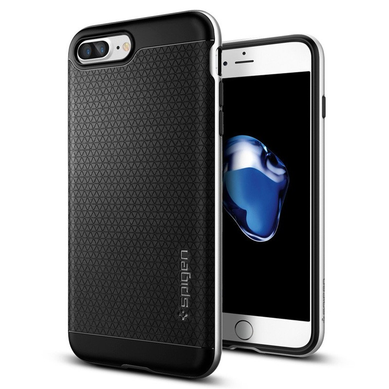 Spigen Neo Hybrid Case iPhone 7 Plus Silver/Black - 1