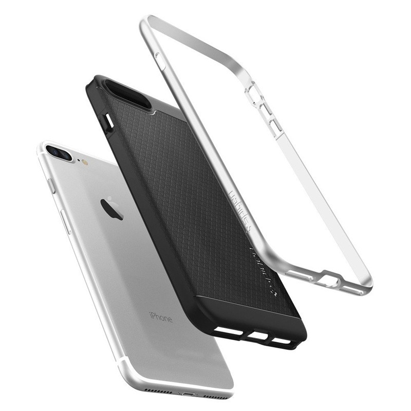 Spigen Neo Hybrid Case iPhone 7 Plus Silver/Black - 6