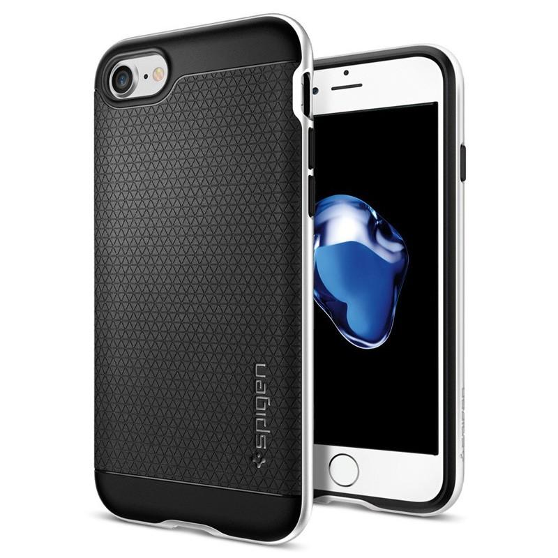 Spigen Neo Hybrid iPhone 7 Satin Silver/Black - 1