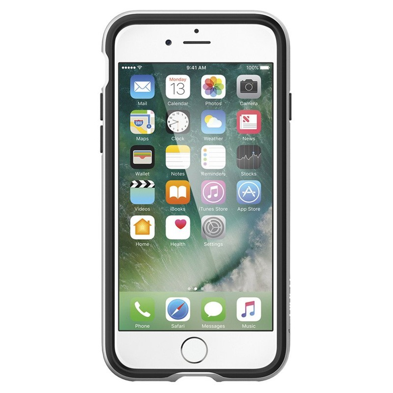 Spigen Neo Hybrid iPhone 7 Satin Silver/Black - 2