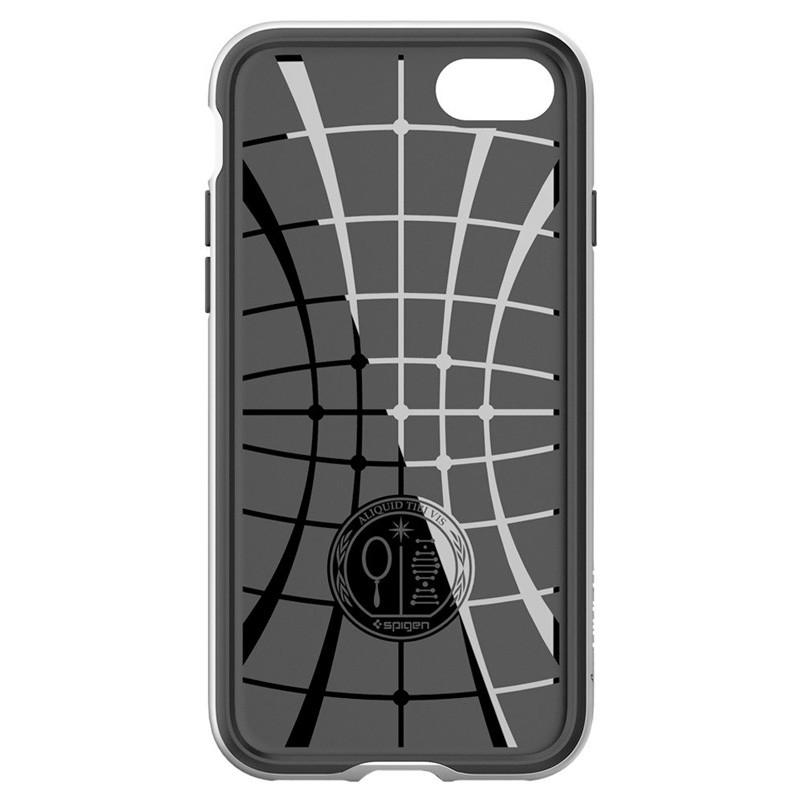 Spigen Neo Hybrid iPhone 7 Satin Silver/Black - 6