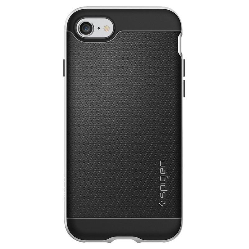 Spigen Neo Hybrid iPhone 7 Satin Silver/Black - 4