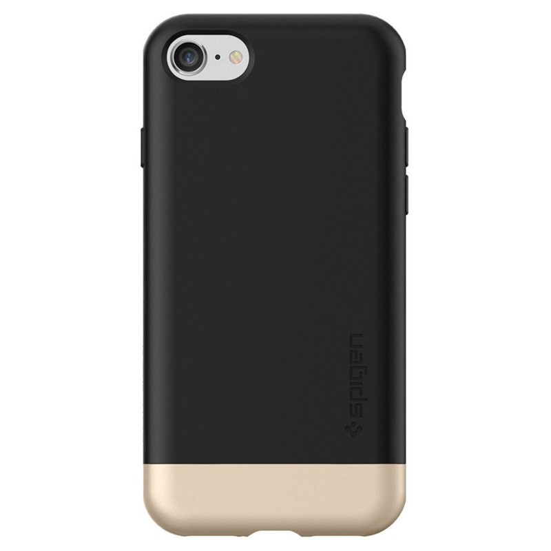 Spigen Style Armor Case iPhone 7 Black/Gold - 4