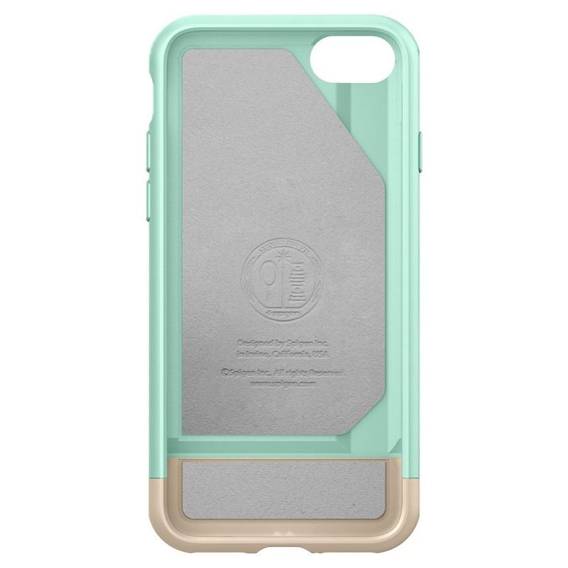 Spigen Style Armor Case iPhone 7 Mint Green/Gold - 3