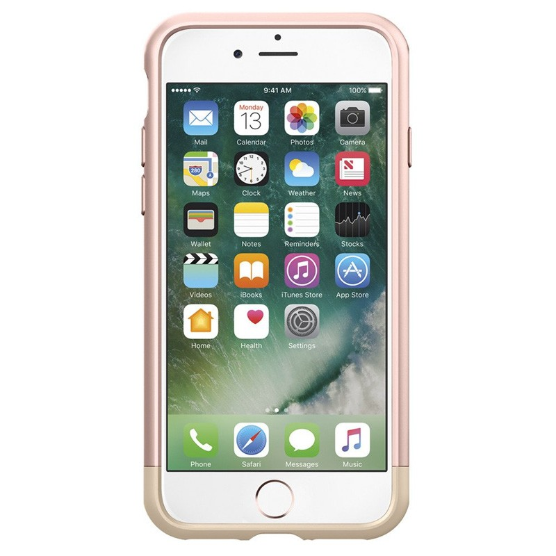 Spigen Style Armor Case iPhone 7 Rose Gold/Gold - 2