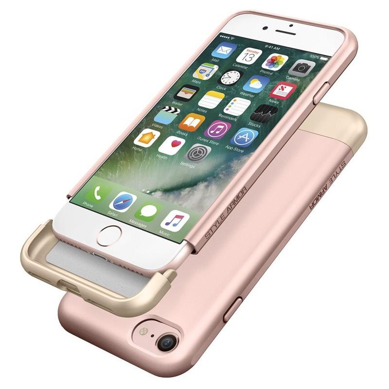 Spigen Style Armor Case iPhone 7 Rose Gold/Gold - 6