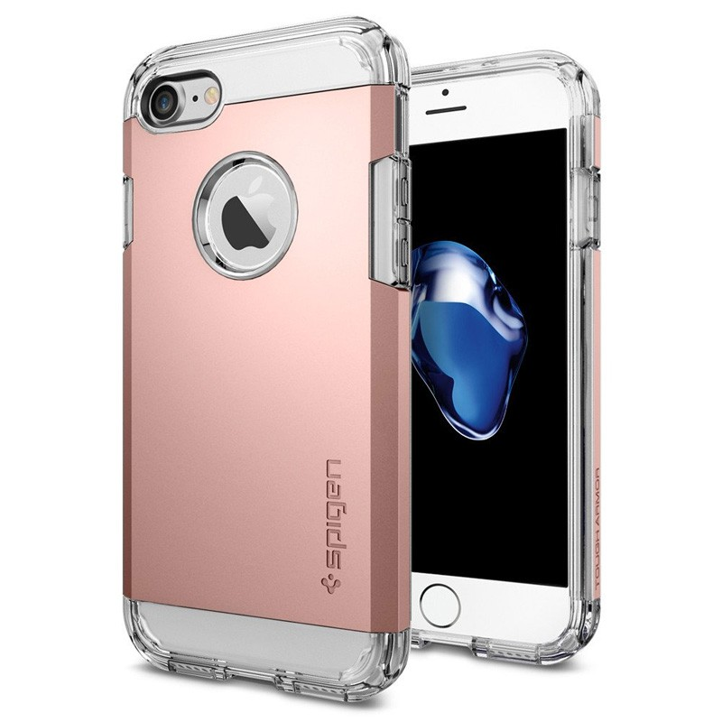 Spigen Tough Armor Case iPhone 7 Rose Gold - 1