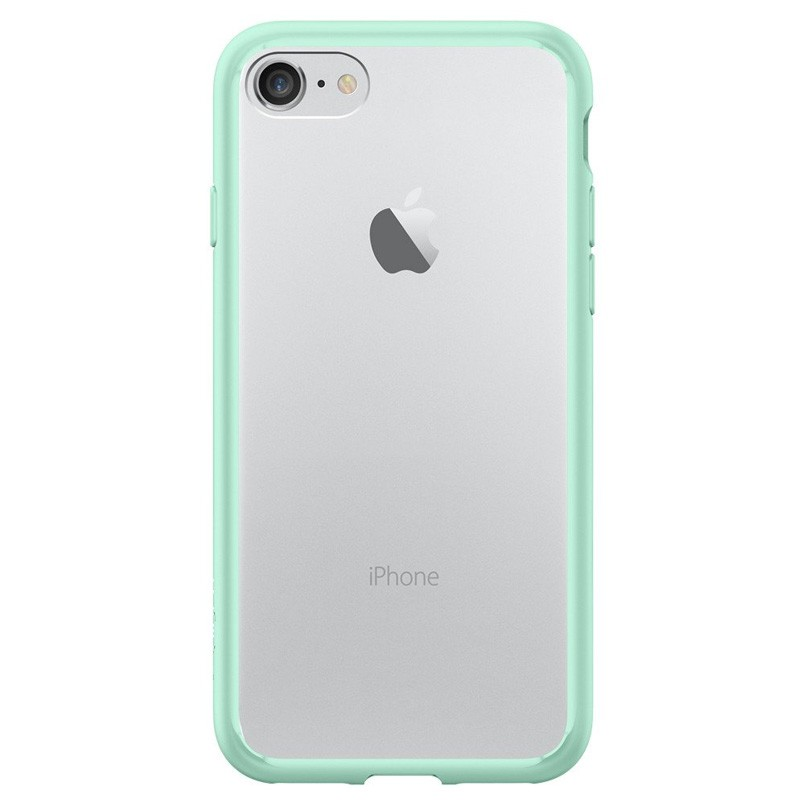 Spigen Ultra Hybrid iPhone 7 Mint Green/Clear - 2