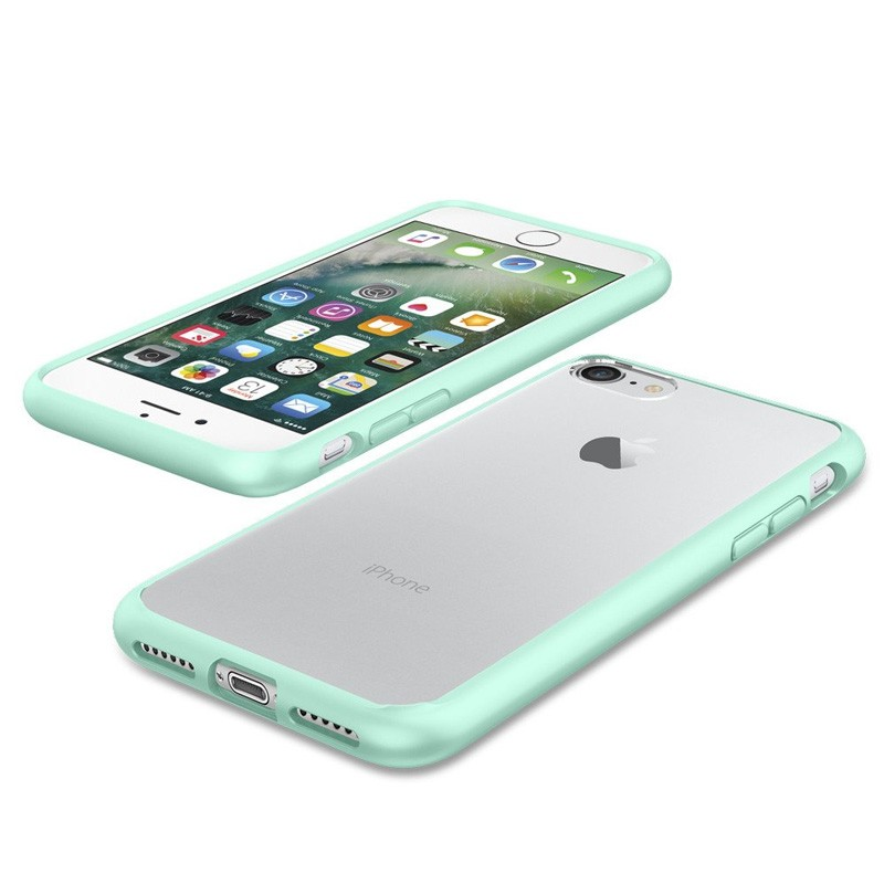 Spigen Ultra Hybrid iPhone 7 Mint Green/Clear - 3