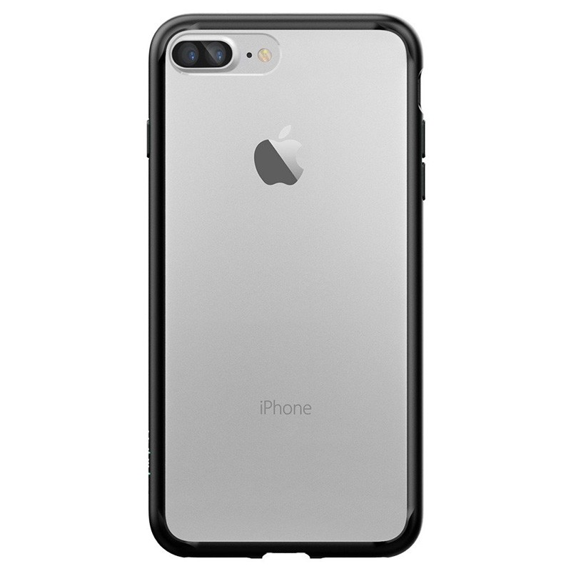 Spigen Ultra Hybrid iPhone 7 Plus Black/Clear - 2