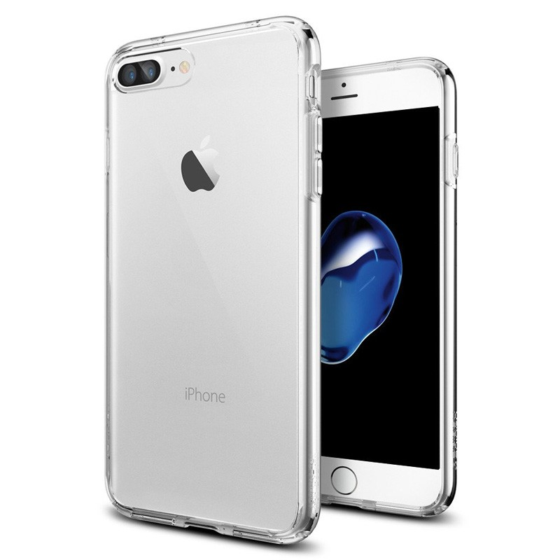 Spigen Ultra Hybrid iPhone 7 Plus Clear - 1
