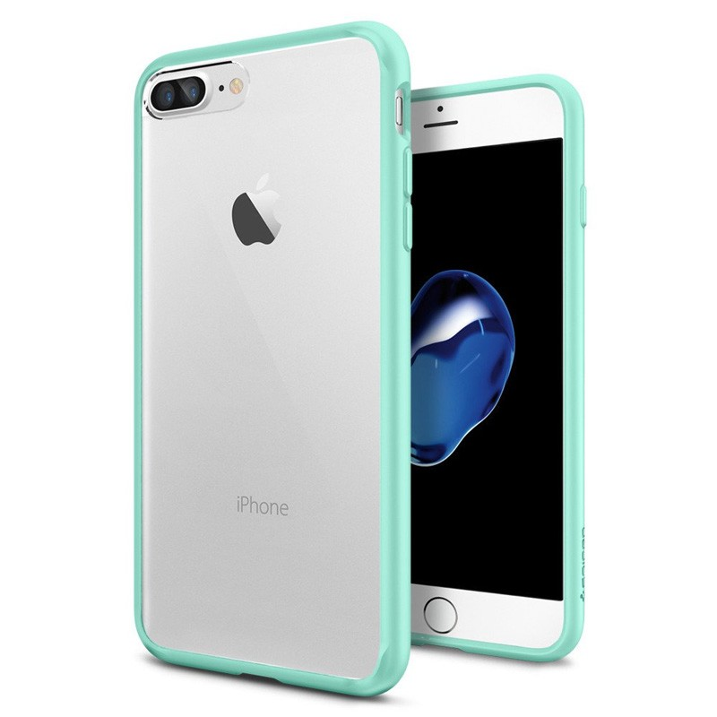 Spigen Ultra Hybrid iPhone 7 Plus Mint Green - 1