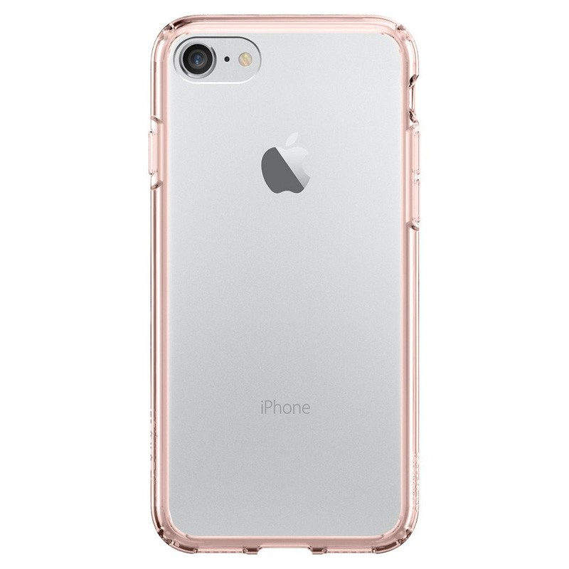 Spigen Ultra Hybrid iPhone 7 Rose Gold/Clear - 2