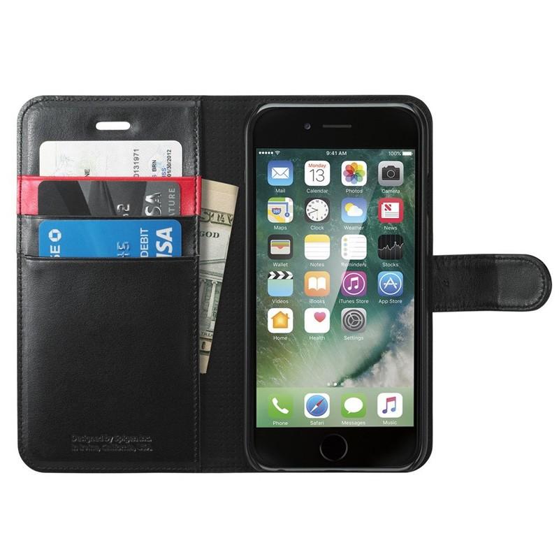 Spigen Wallet S Case iPhone 7 Black - 1
