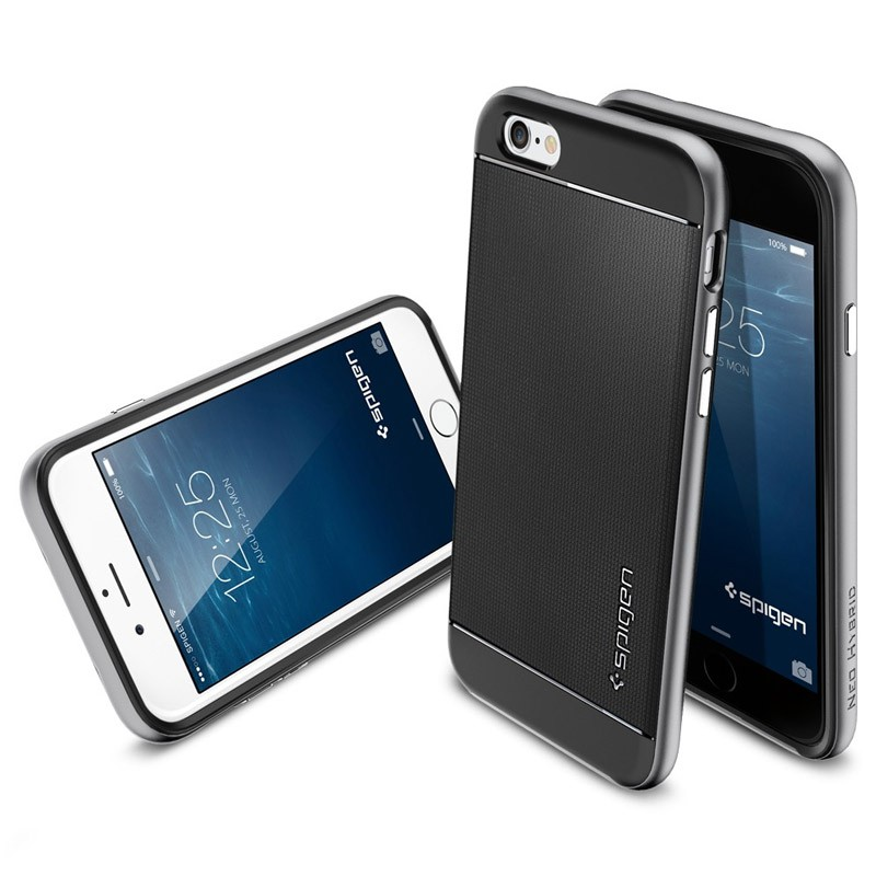 Spigen Neo Hybrid Case iPhone 6 Plus Gunmetal - 3