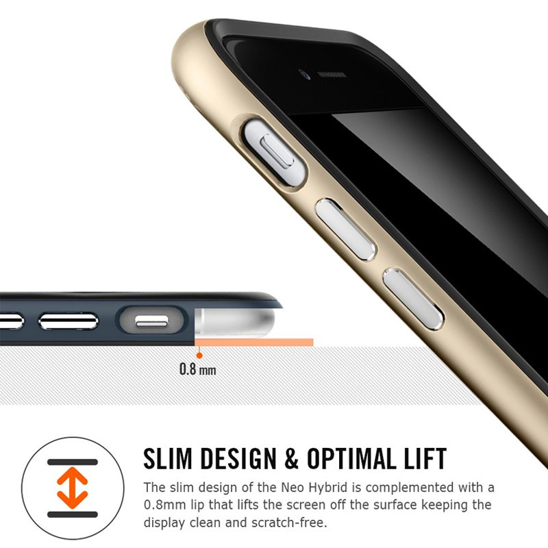 Spigen Neo Hybrid Case iPhone 6 Gunmetal - 6