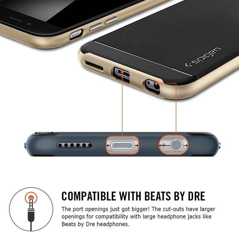 Spigen Neo Hybrid Case iPhone 6 Plus Gunmetal - 6