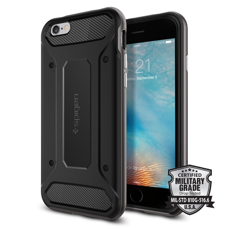 Spigen Neo Hybrid Carbon iPhone 6 / 6S Gunmetal - 2
