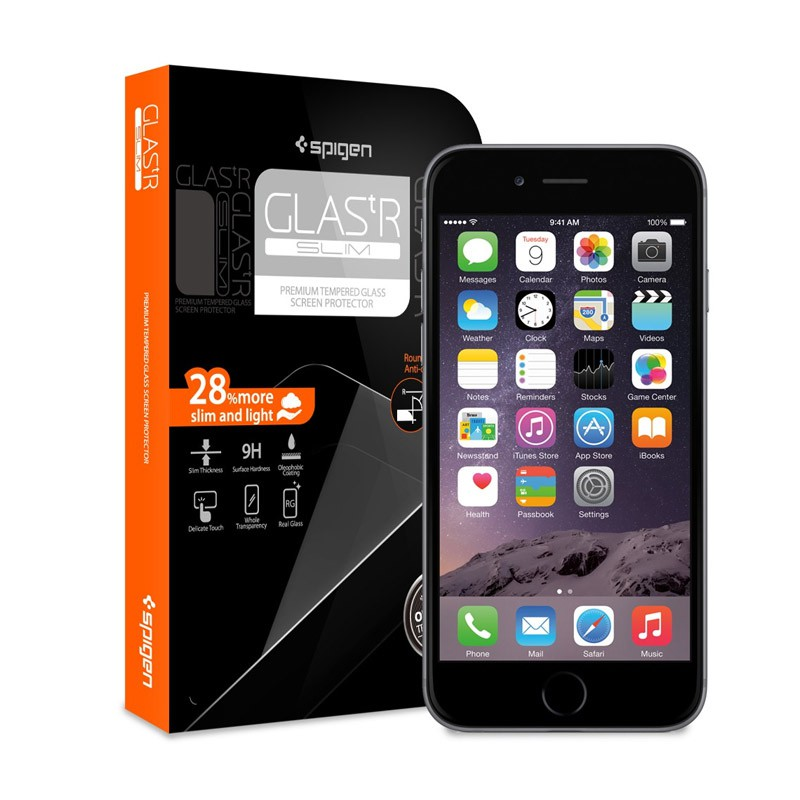 Spigen Glass Screenprotector iPhone 6 - 1