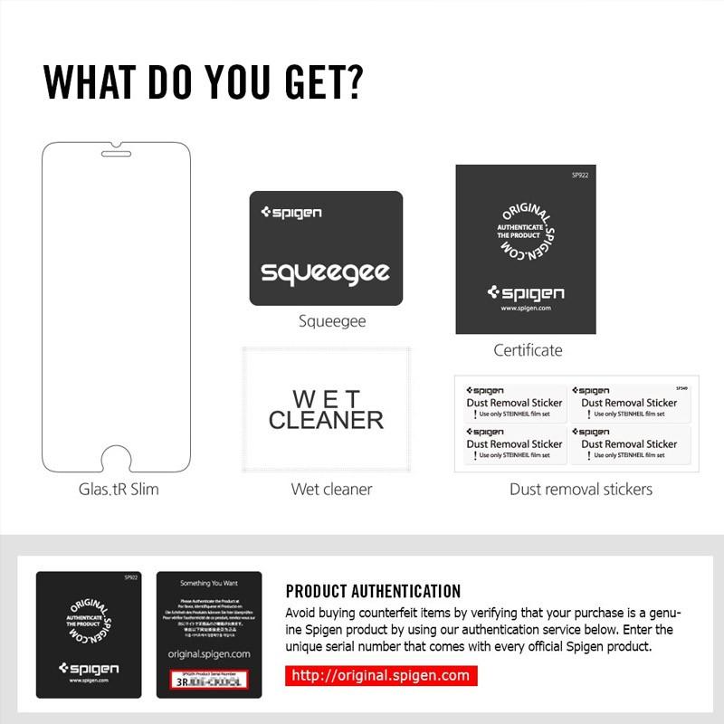 Spigen Glass Screenprotector iPhone 6 - 3