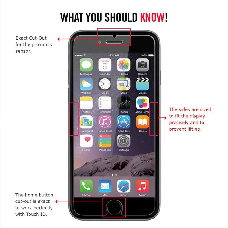 Spigen Glass Screenprotector iPhone 6 - 2