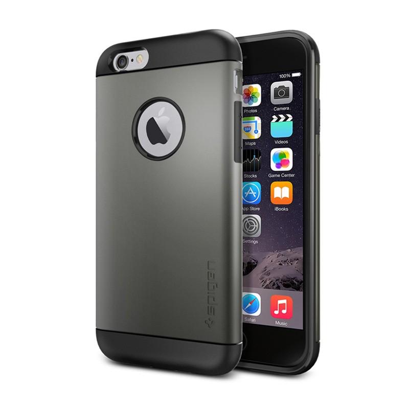Spigen Slim Armor Case iPhone 6 Gunmetal - 1