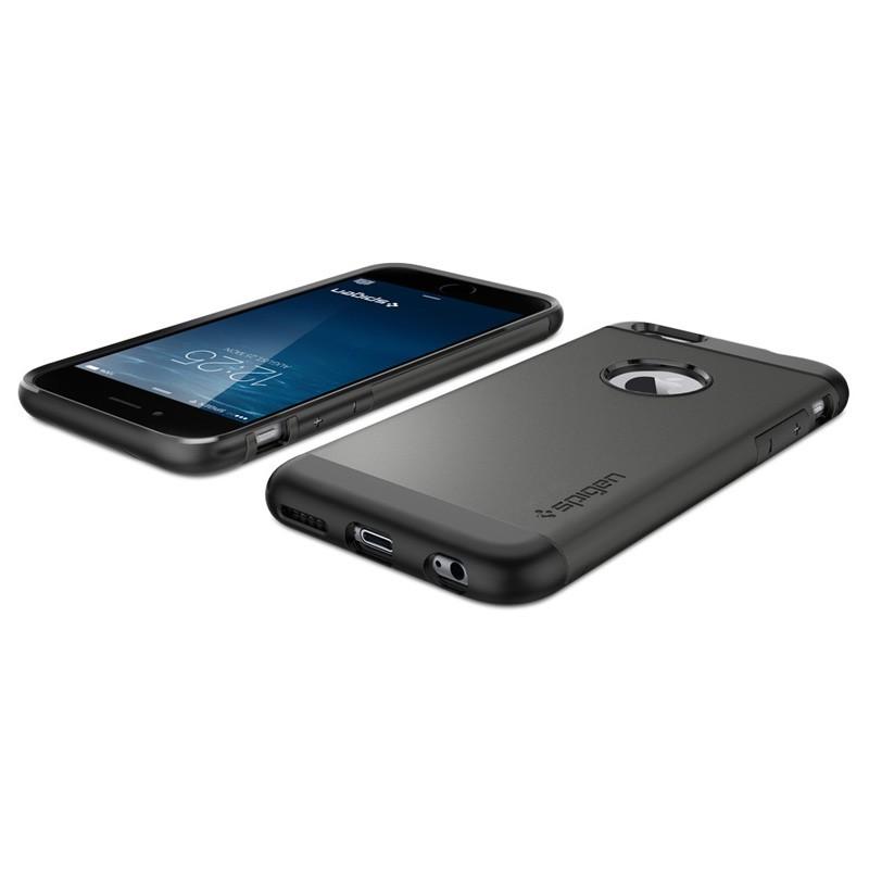 Spigen Slim Armor Case iPhone 6 Gunmetal - 4