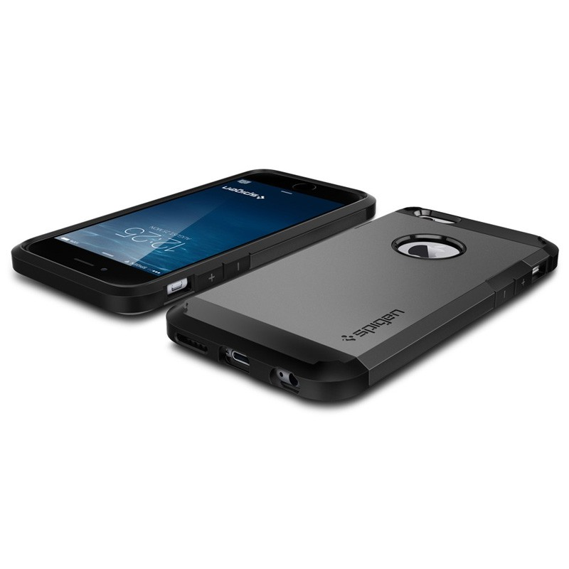Spigen Tough Armor Case iPhone 6 Gunmetal - 2
