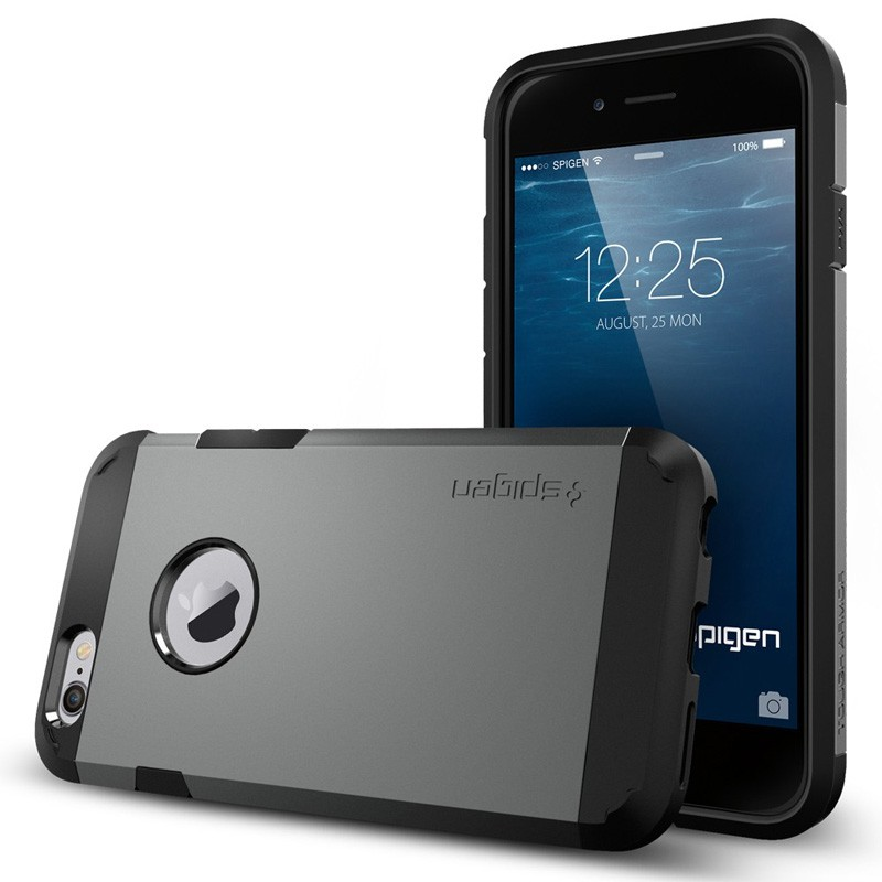 Spigen Tough Armor Case iPhone 6 Gunmetal - 3