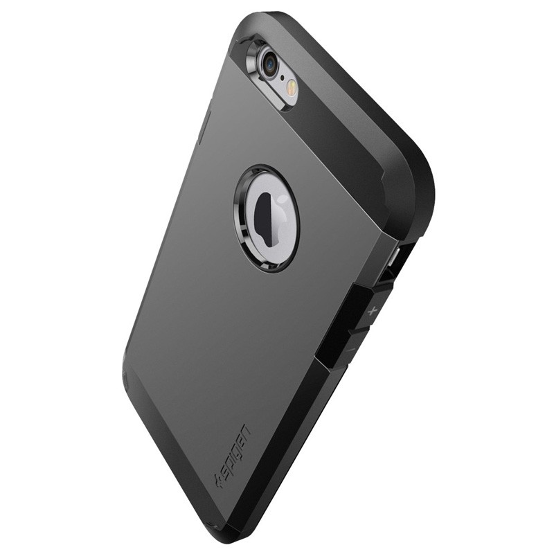 Spigen Tough Armor Case iPhone 6 Gunmetal - 4