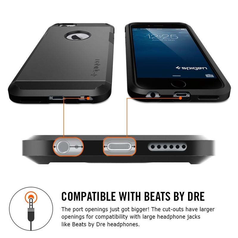 Spigen Tough Armor Case iPhone 6 Black - 7