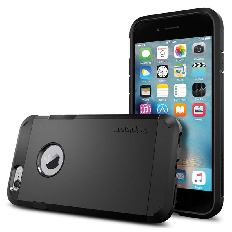 Spigen Tough Armor Case iPhone 6 Black - 1