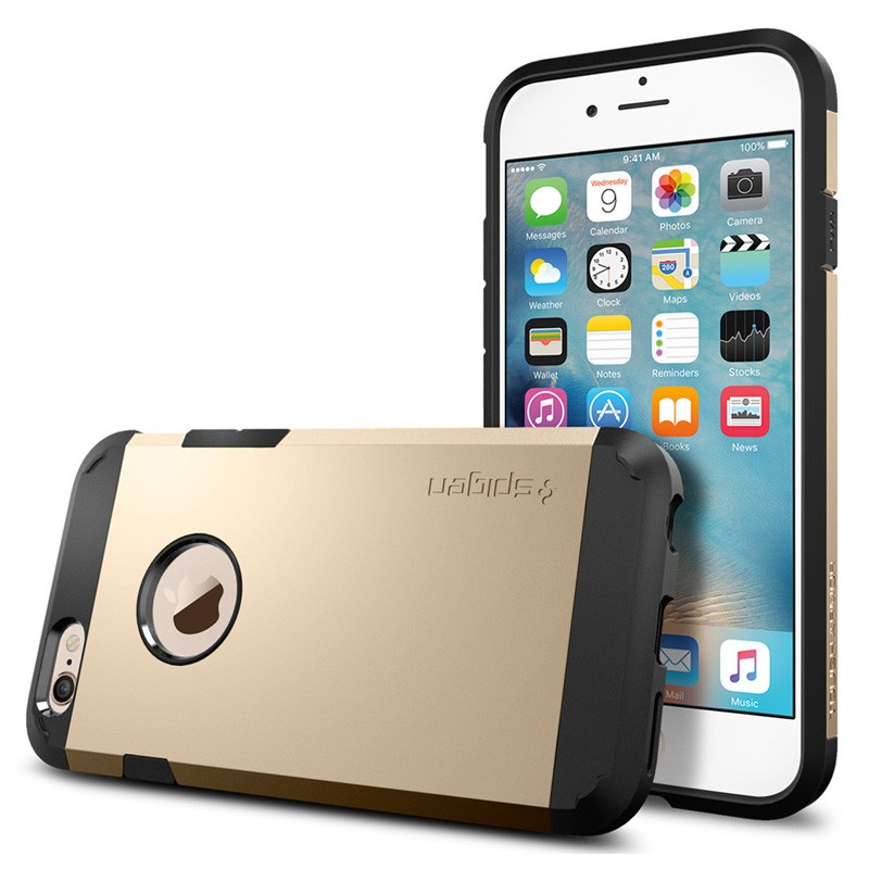 Spigen Tough Armor Case iPhone 6 Champagne - 1