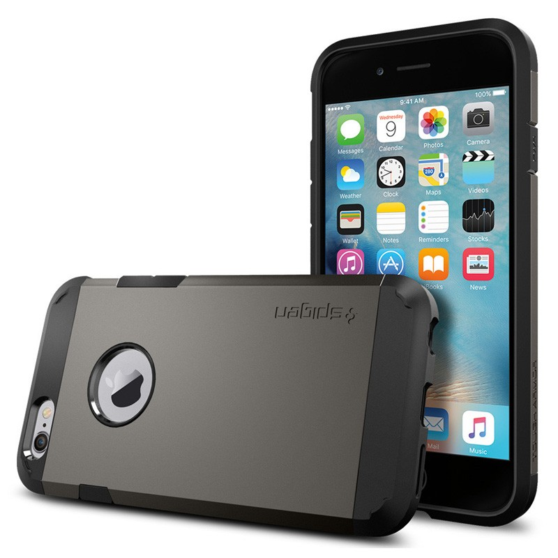Spigen Tough Armor Case iPhone 6 Gunmetal - 1