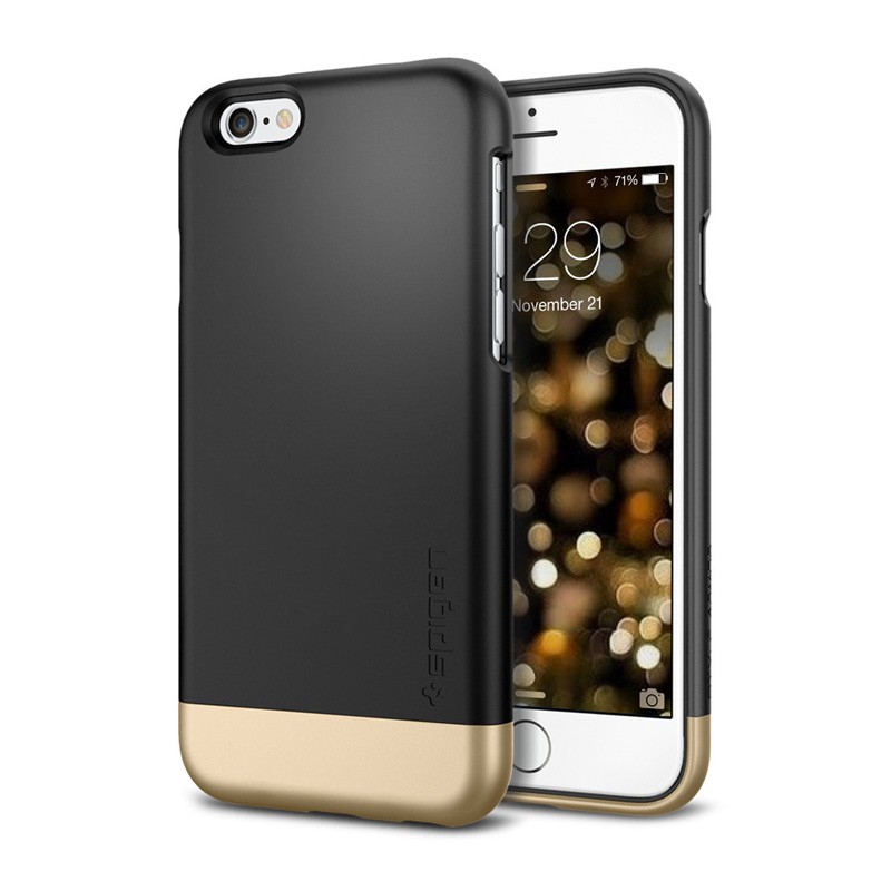 Spigen Style Armor Case iPhone 6 Black - 1