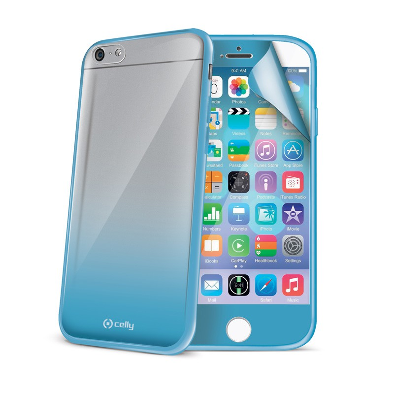 Celly Sunglass Cover iPhone 6 Blue - 1