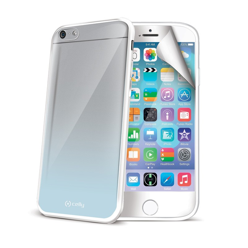 Celly Sunglass Cover iPhone 6 White - 1