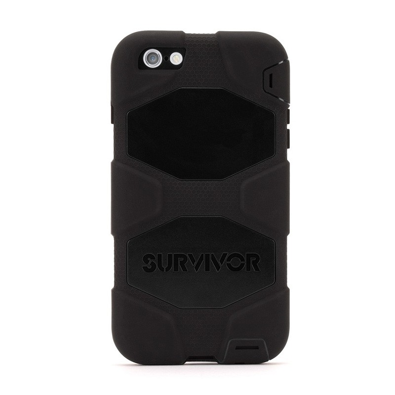 Griffin Survivor Case All Terrain iPhone 6 Plus Black - 2