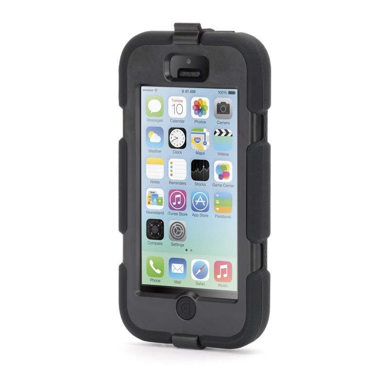 Griffin Survivor Extreme iPhone 5C Black - 4
