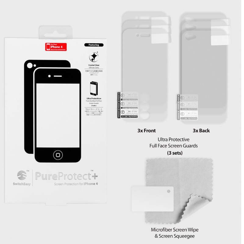 SwitchEasy Pure+ Protect iPhone 4(S) - 4