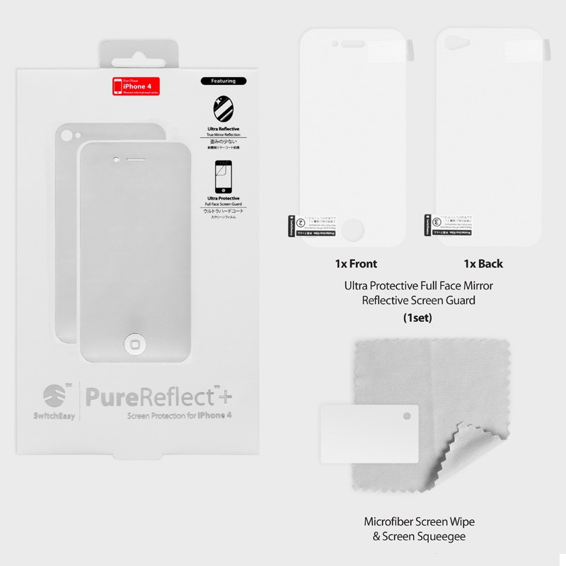 SwitchEasy Pure+ Reflect iPhone 4(S) - 4