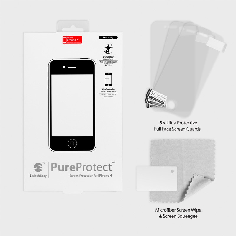 SwitchEasy Pure Protect iPhone 4(S) - 3