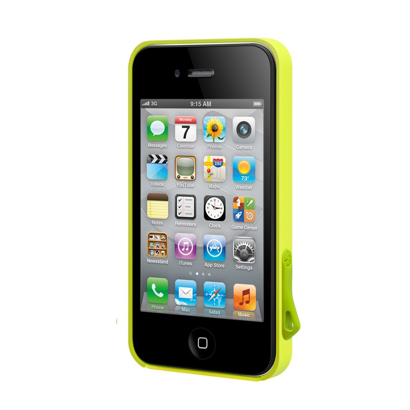 SwitchEasy Lanyard iPhone 4(S) Lime - 4