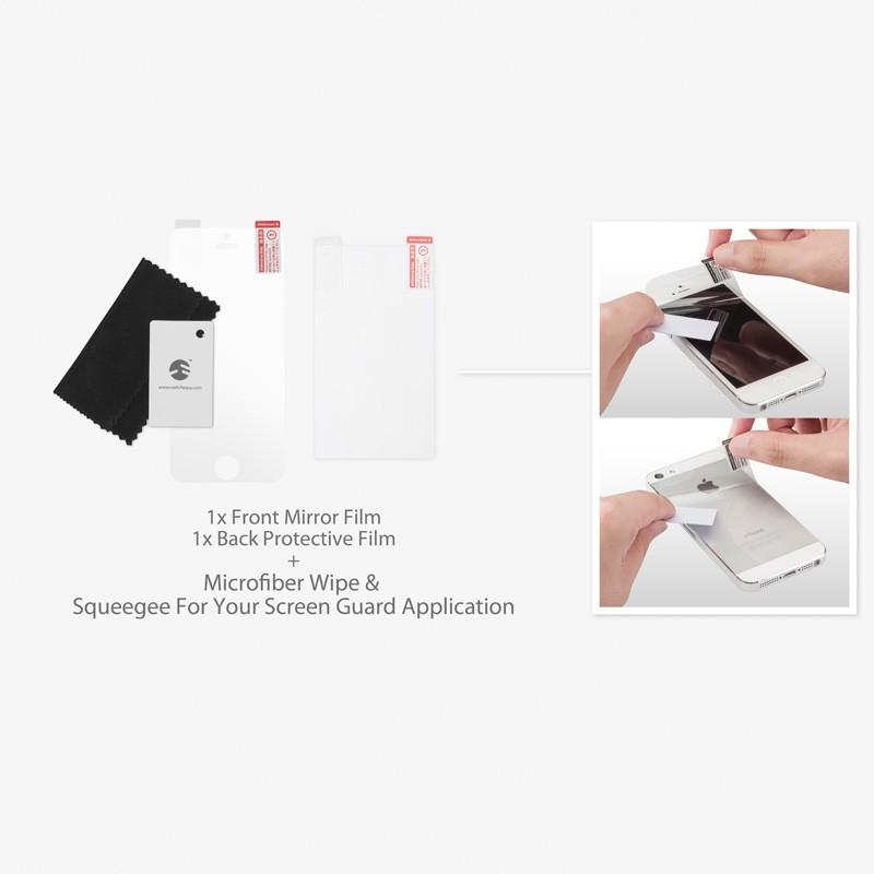 SwitchEasy Pure iPhone 5 Mirror - 5