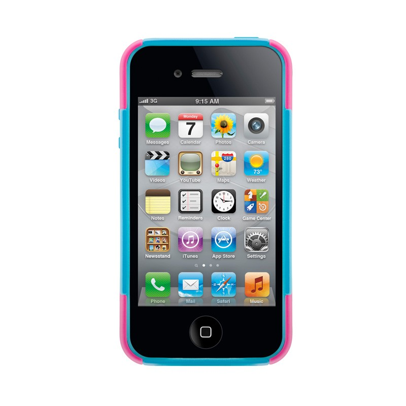 SwitchEasy Rebel X Pink/blue iPhone 4(S) - 3